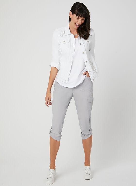 Textured Camisole, White