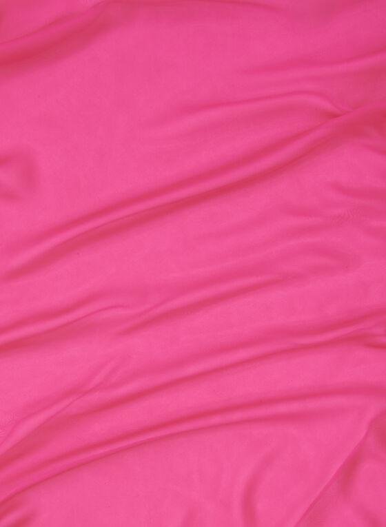 Sheer Oblong Scarf, Pink