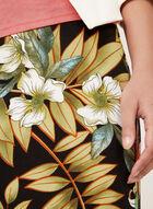 Jupe fourreau à motif tropical, Multi, hi-res