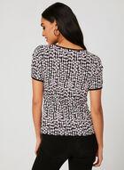 Textured Dot Print Top, Multi, hi-res