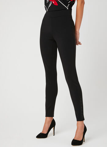 Ponte de Roma Leggings, Black, hi-res
