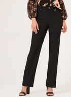 Simon Chang Straight Leg Pants, Black, hi-res
