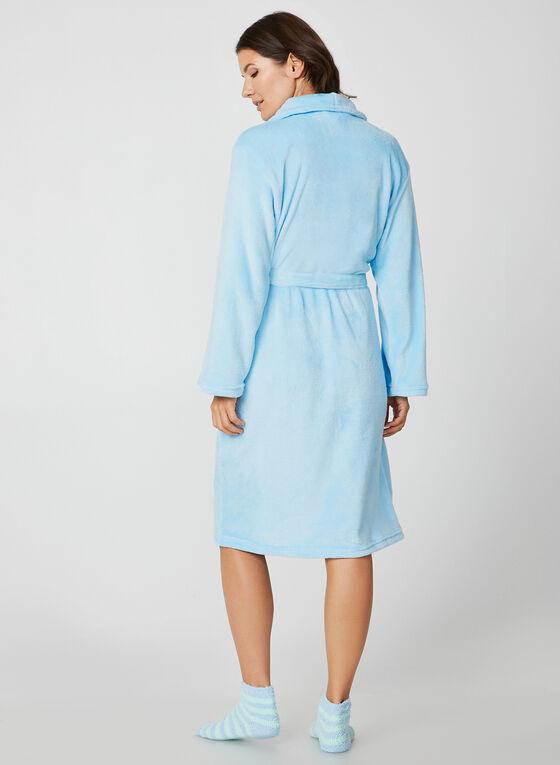 Hamilton - Bathrobe & Socks, Blue