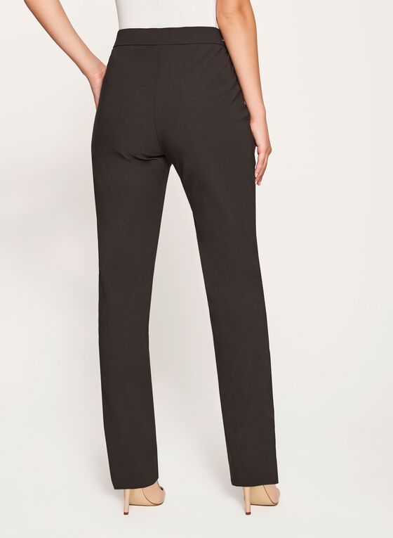 Simon Chang - Pull-On Slim Leg Pants, Green, hi-res
