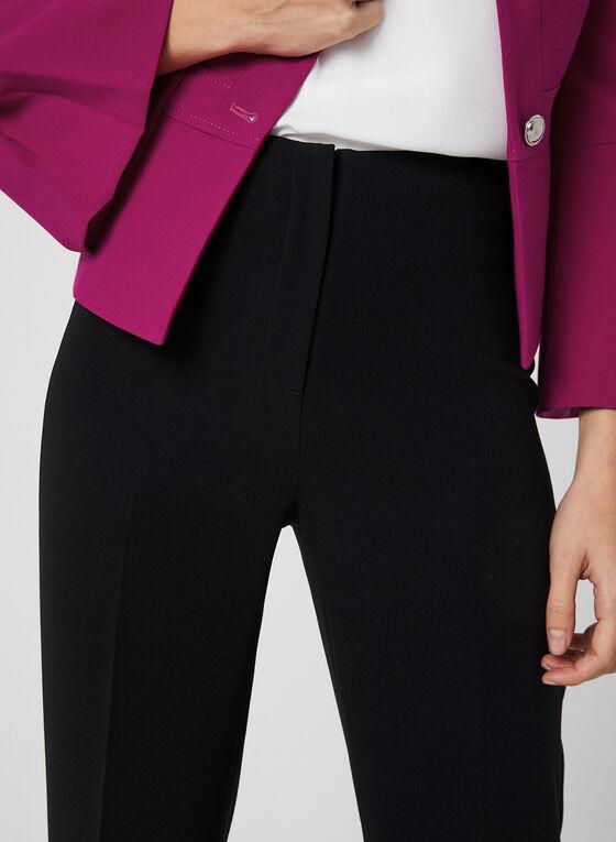 Louben - Pantalon coupe signature à jambe large, Noir