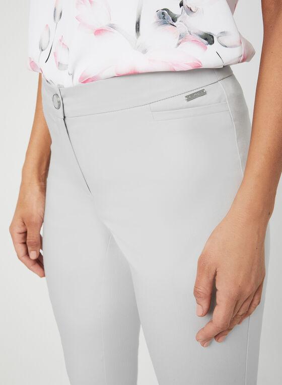Pantalon coupe cité à jambe étroite, Gris, hi-res