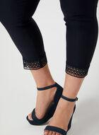 Pantalon coupe cité à détail crochet, Bleu, hi-res