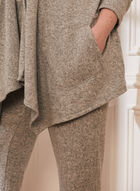 Sweater Knit Cover-Up, Grey