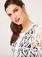 Ness - Veste en crochet avec zip, Blanc cassé, hi-res
