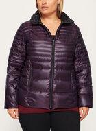 Nuage - Lightweight Packable Down Coat, Purple, hi-res