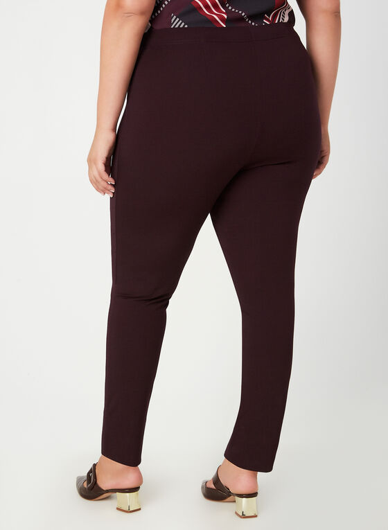 City Fit Pull-On Pants, Purple
