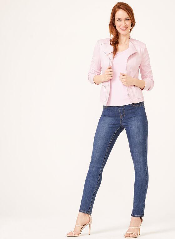 Basic Scoop Neck Camisole, Pink, hi-res