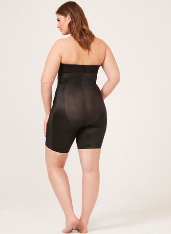 Body Hush – High Rise Thigh Shaper, Black,