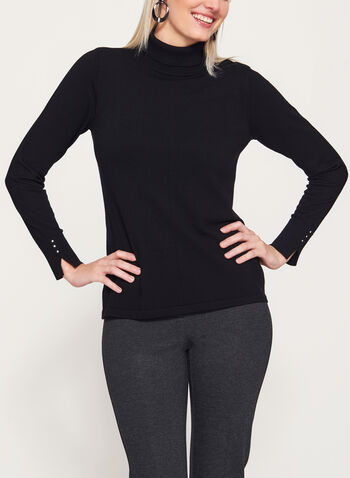Long Sleeve Turtleneck Sweater, , hi-res