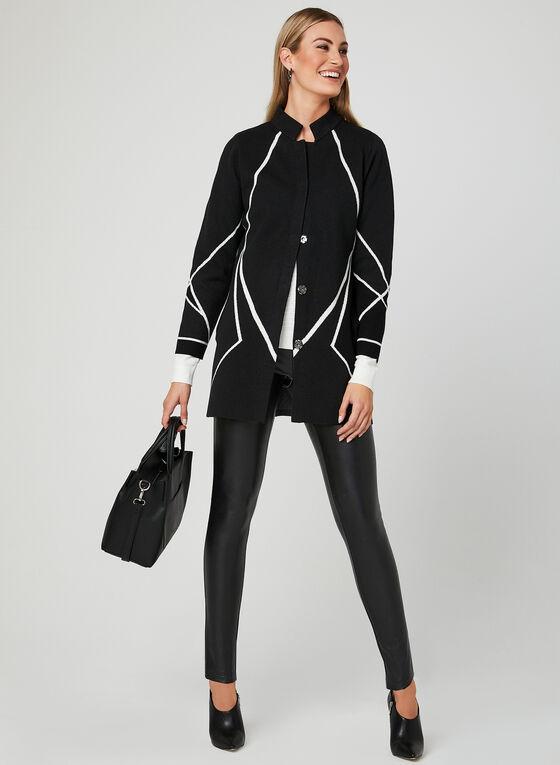Elena Wang - Knit Cardigan, Grey, hi-res