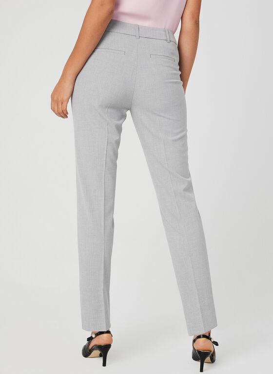 Pantalon coupe cité longueur cheville, Gris