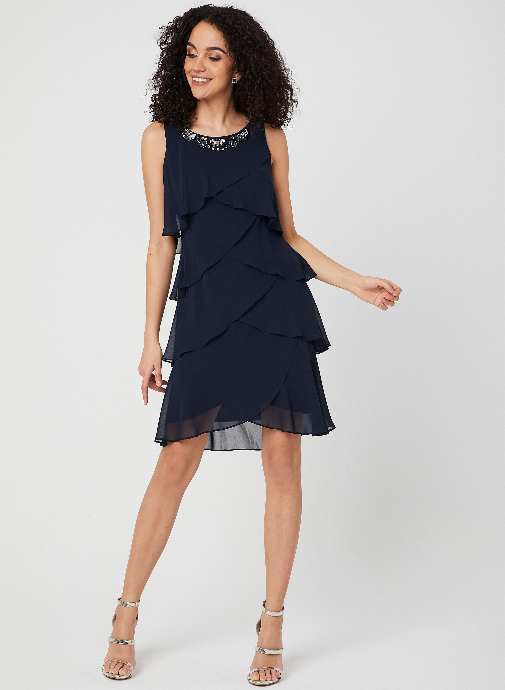 Ruffle Waist Dress