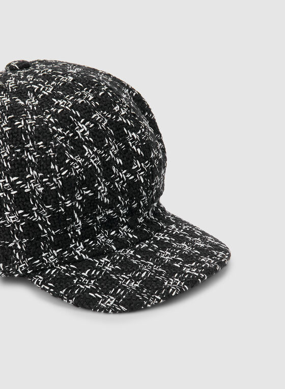 Tweed Cap, Black