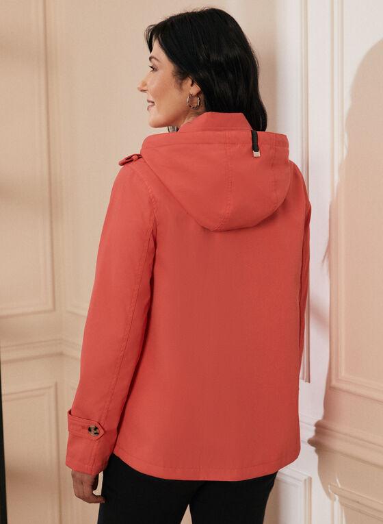 Novelti - Manteau court à capuchon amovible, Orange