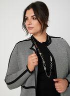 Sleeveless Mock Neck Sweater, Black, hi-res