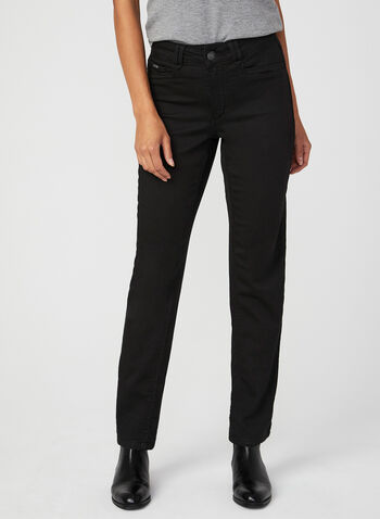 Carreli Jeans - Angela Fit Slim Leg Jeans, Black, hi-res