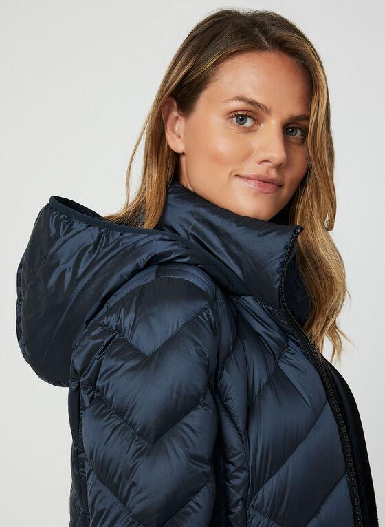 BCBGeneration - Packable Down Coat, Blue, hi-res