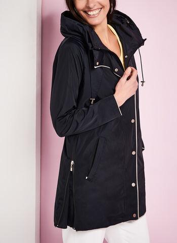 Nuage - Manteau contrasté à capuchon, , hi-res