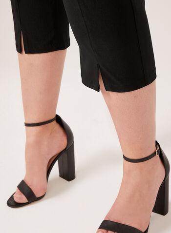 Simon Chang - Capri coupe signature à jambe droite, Noir, hi-res