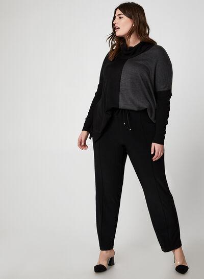 Pantalon coupe moderne à cordons