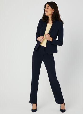 Louben - Modern Fit Pants, Blue, hi-res,