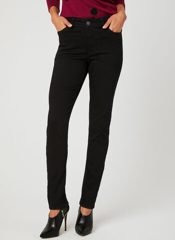 Carreli Jeans – Signature Fit Straight Leg Jeans, Black, hi-res