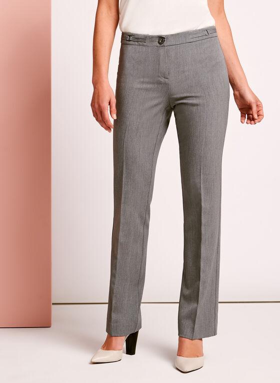 Modern Fit Straight Leg Pant, Grey, hi-res