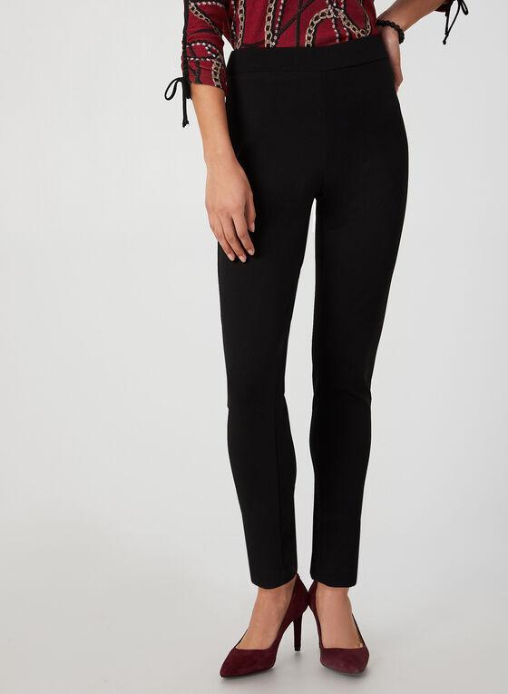 Crepe City Fit Pants, Black