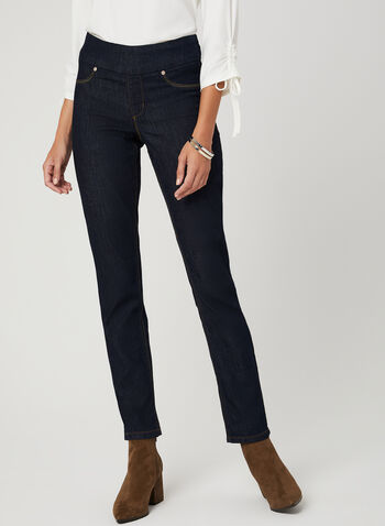 Carreli Jeans – Angela Straight Leg Denim Pants, Blue, hi-res