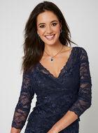 Marina - Beaded Lace Dress, Blue, hi-res