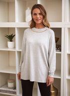 Chain Detail Sweater, Grey