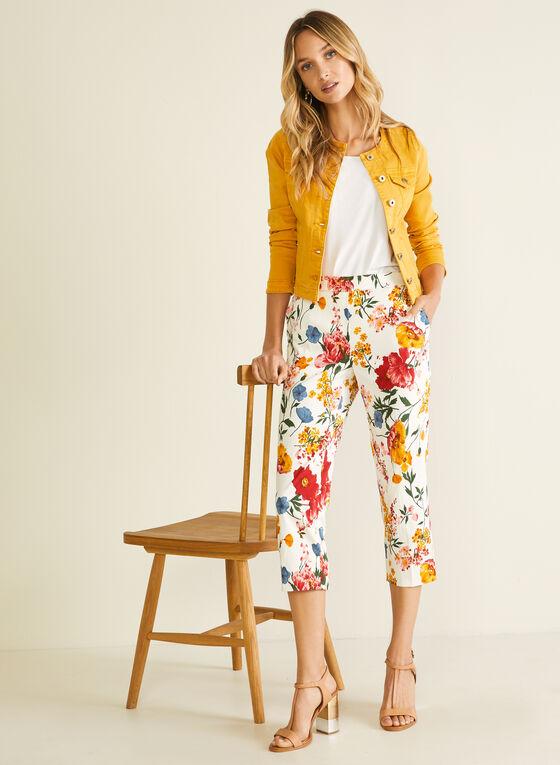 Capri pull-on motif floral, Multi