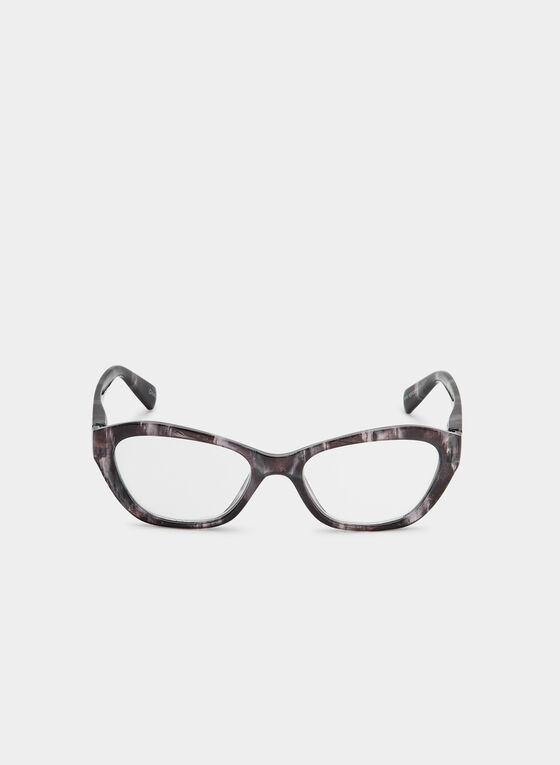 Lunettes de lecture œil de chat, Noir