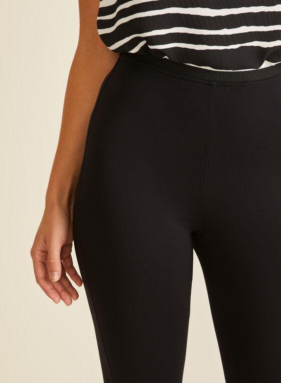Legging capri pull-on, Noir