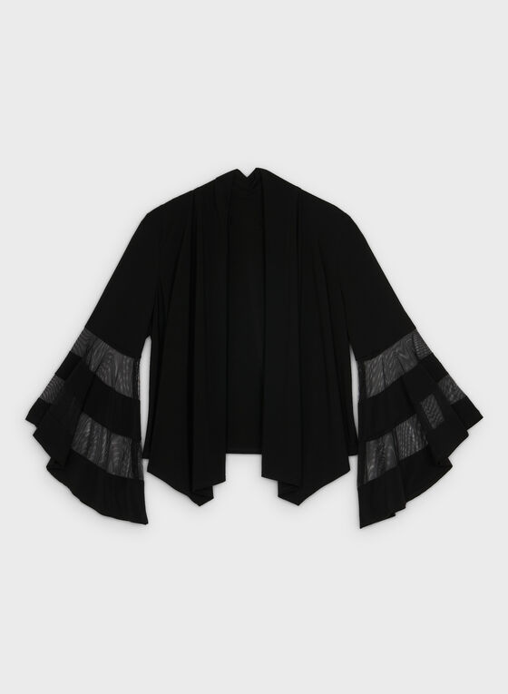 Bell Sleeve Bolero, Black