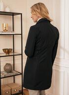 Novelti - Manteau boutonné à capuchon amovible, Noir