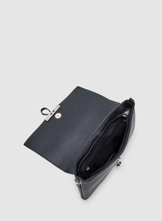 Rectangular Crossbody Bag, Blue
