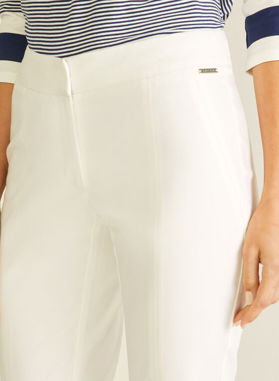 City Fit Straight Leg Pants, Off White