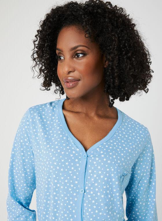 Bellina -Star Print Pyjama Set, Blue