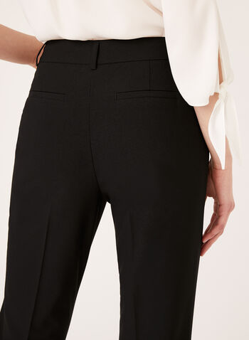 Modern Fit ⅞ Straight Leg Pants, Black, hi-res