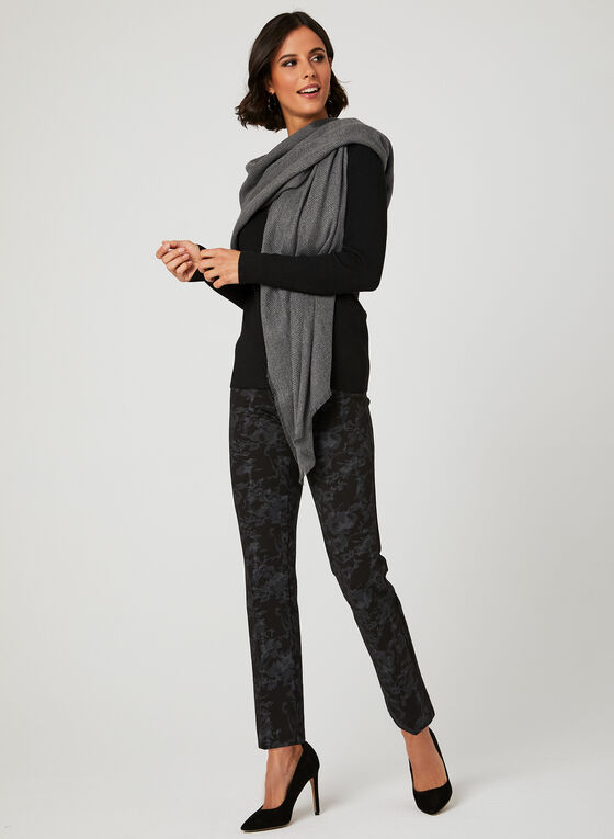 Elena Wang - Ring Detail Sweater, Black, hi-res