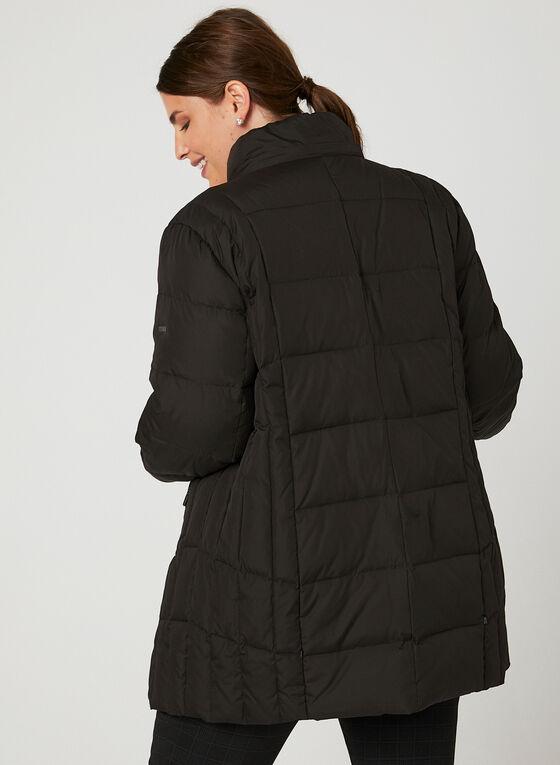 Novelti - Manteau matelassé avec fausse fourrure, Noir, hi-res