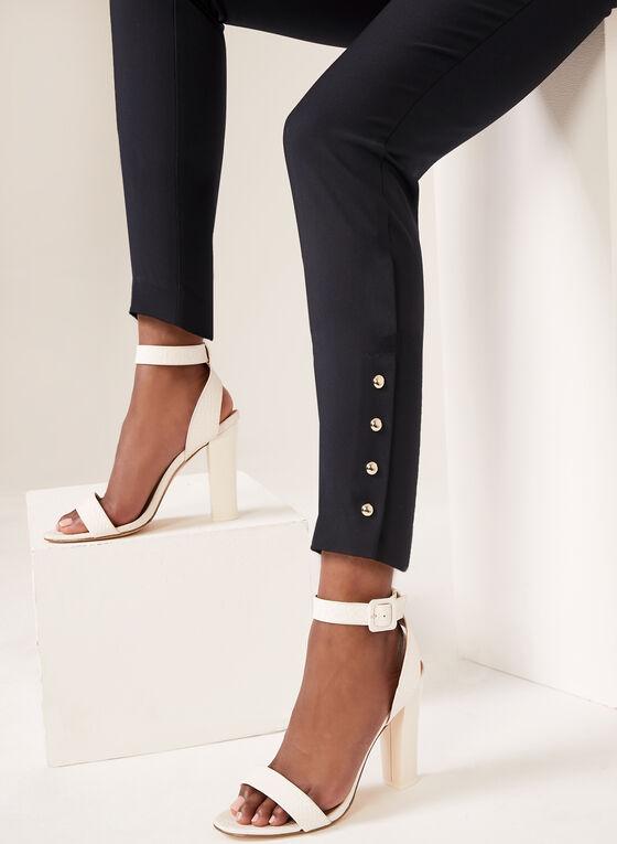 City Fit Slim Leg Ankle Pants, Blue, hi-res
