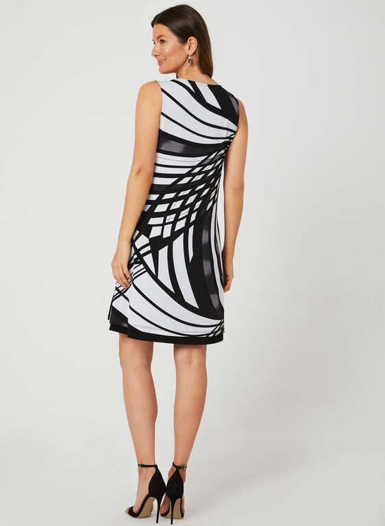 Reversible Jersey Dress, Black