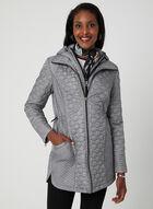 Chillax - Lightweight Quilted Coat, Black, hi-res